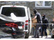 belgica: 4 detenidos en cateos por ataque a estacion de tren