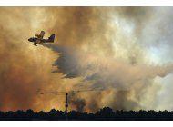 portugal controla segundo gran incendio forestal