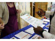 suben levemente solicitudes de ayuda por desempleo en eeuu