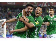 confederaciones: mexico recurre a su mejor elenco ante rusia