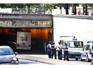 cuatro heridos en accidente de autobus en paris
