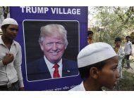 organizacion india quiere dar a una aldea el nombre de trump