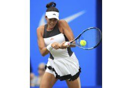 kvitova vuelve a una final; muguruza, eliminada