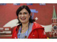 super voluntaria brasilena trabaja en otra confederaciones