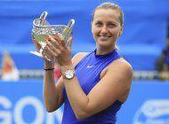 kvitova obtiene su 1er titulo desde su regreso