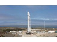 spacex lanza 10 satelites desde california