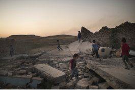 combatientes del grupo ei contraatacan en mosul