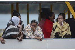 suben a siete los muertos en un naufragio en colombia