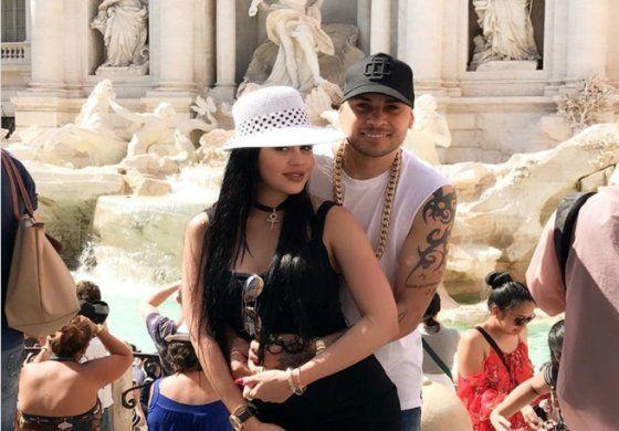 Jacob Forever y La Dura juntos de paseo por Roma, Italia