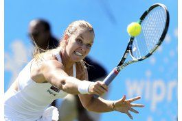kvitova se retira de eastbourne; cibulkova es eliminada