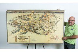 mapa original de disneylandia se vende por $708.000