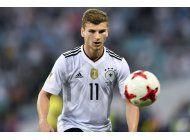 werner podria ser clave para alemania en el mundial