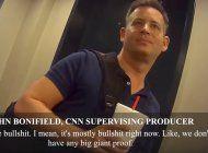 graban con camara oculta a productor de cnn diciendo que el tema trump-rusia es una patrana, luego renuncia