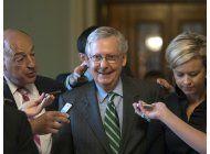 los republicanos del senado congelan su iniciativa de salud