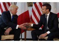 trump acepta invitacion para ir a francia