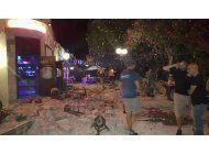 dos muertos y mas de 120 heridos por sismo en grecia