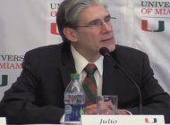 presidente de la universidad de miami anuncia  reunion con lideres del exilio cubano