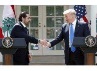 trump y premier libanes reafirman combate al terrorismo