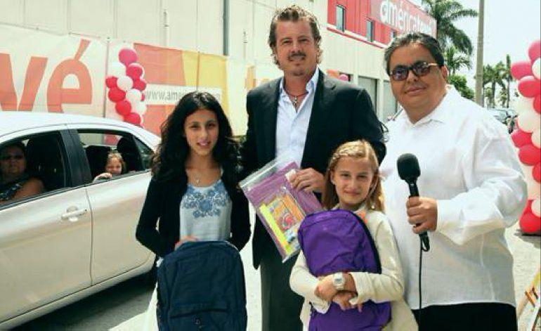 América Tevé sigue respondiendo a los intereses de su comunidad con otra de su tradicional entrega de mochilas y materiales escolares para el curso 2017- 2018