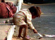 ninos desnutridos de venezuela ahora en las calles de colombia
