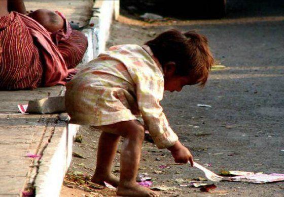 Niños desnutridos de Venezuela ahora en las calles de Colombia