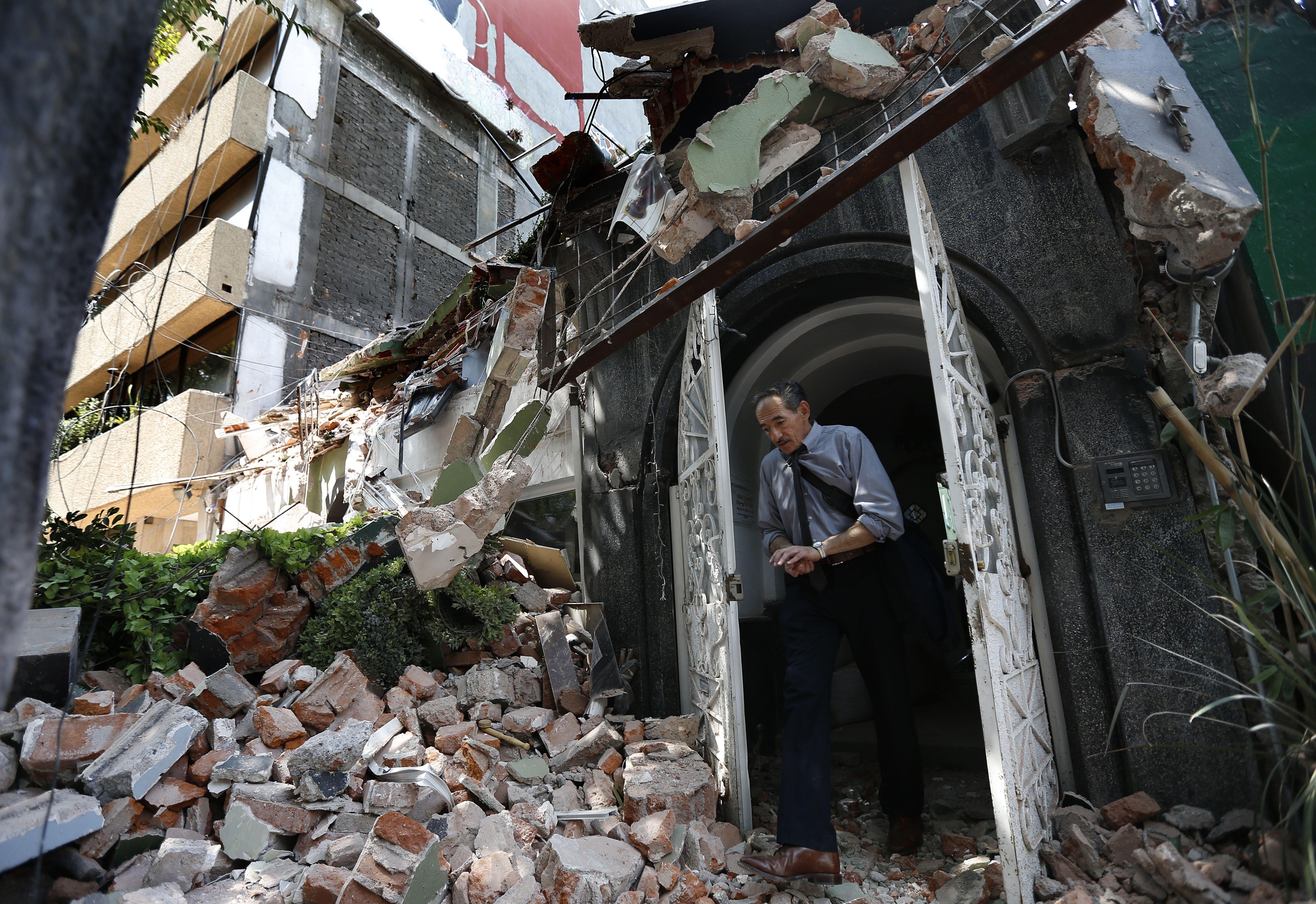 LO ÚLTIMO:Al menos 8 extranjeros muertos por sismo en México