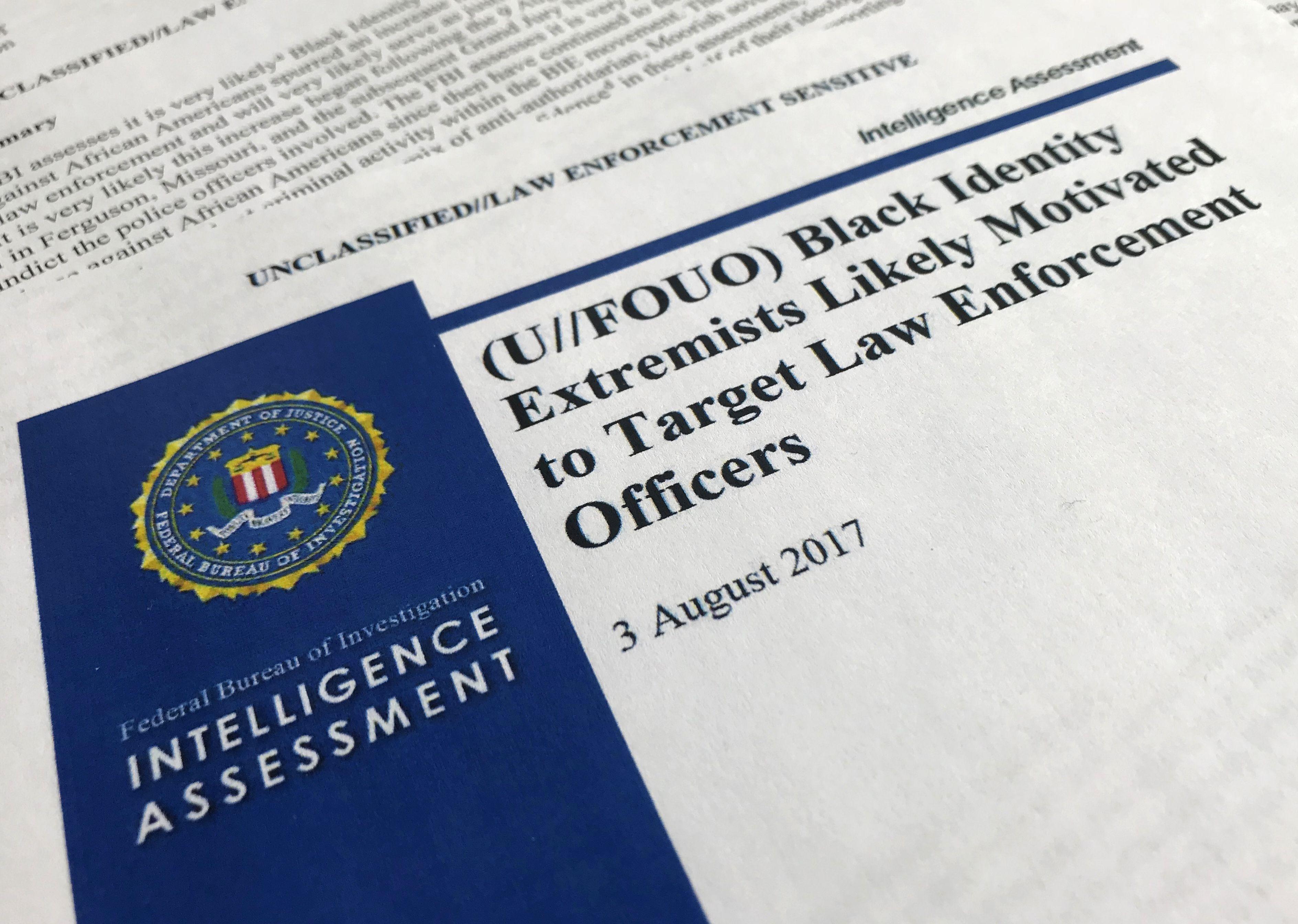 """Informe del FBI sobre """"extremistas"""" negros despierta temores"""