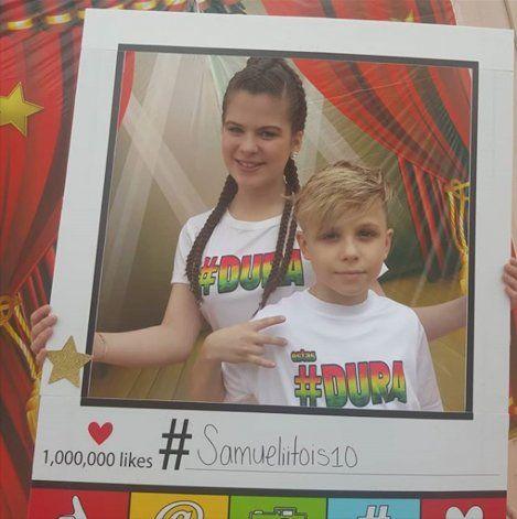 Samuelito, un niño cubano que  se une al Dura Challenge
