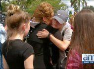 estudiantes de florida se movilizan contra las armas camino a tallahassee