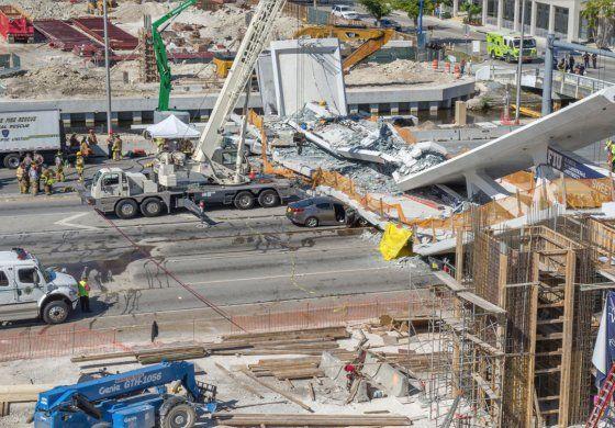 Desplome de puente en Miami: ¿Quiénes son los responsables?