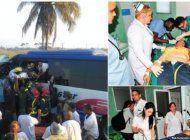 un muerto y 34 lesionados por accidente de transito en oriente cubano