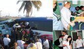 Un muerto y 34 lesionados por accidente de tránsito en oriente cubano