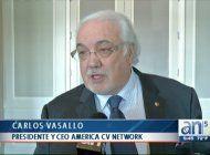 camara de comercio hispana premia a carlos vasallo, presidente de america teve