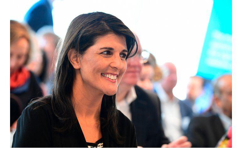 Renuncia Nikki Haley, la embajadora de EE.UU. en la ONU