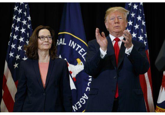Trump elogia a nueva directora de la CIA