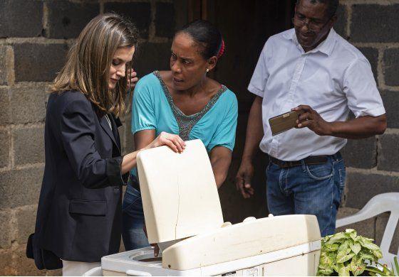 Reina Letizia de España visita República Dominicana