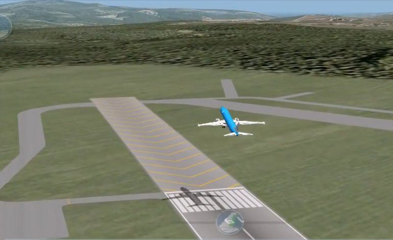 Se filtra el video de la reconstrucción del accidente aéreo de Global Air en La Habana