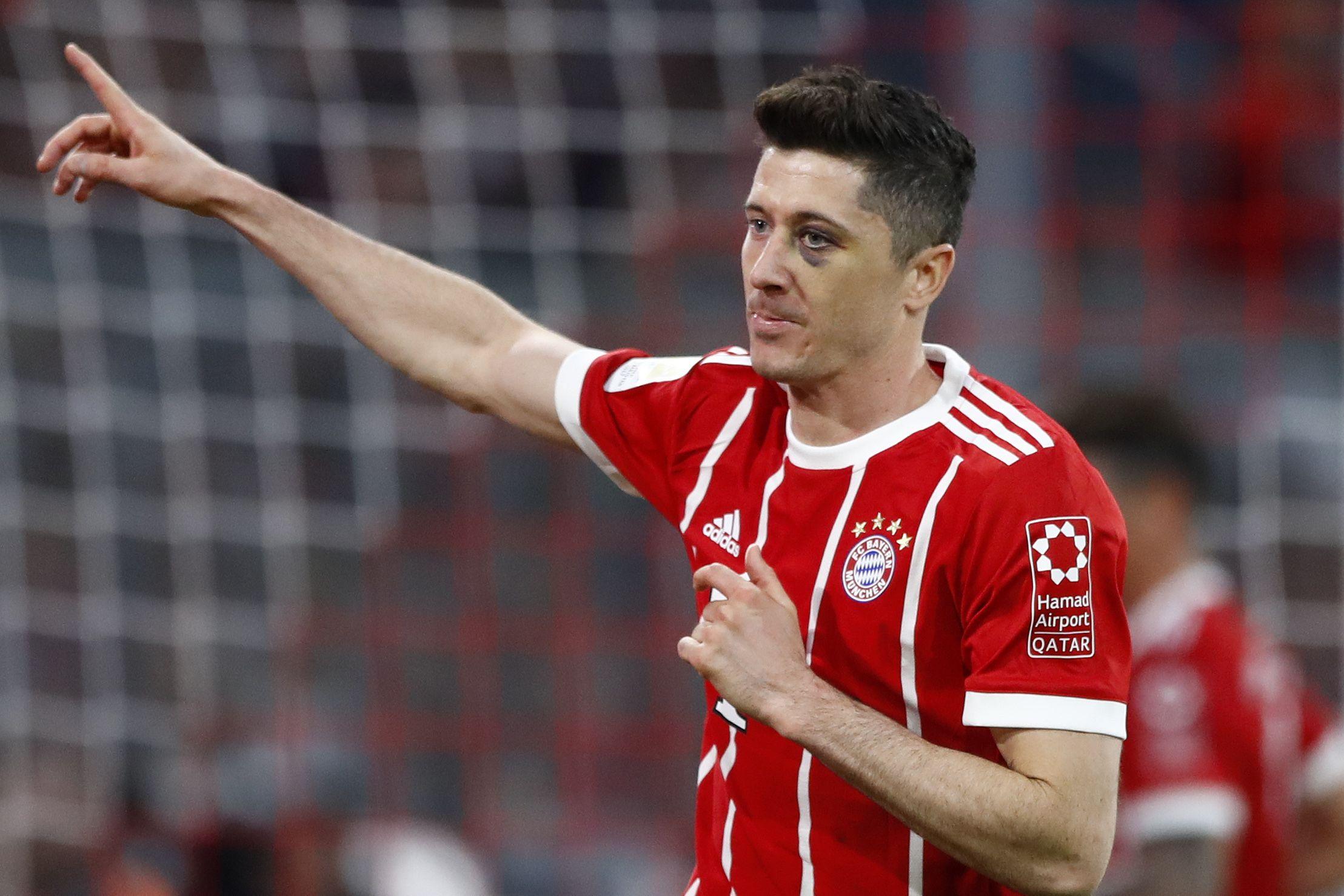 Agente  Lewandowski quiere irse del Bayern 06786d96c4040