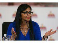 venezuela: maduro nombra vicepresidenta a delcy rodriguez