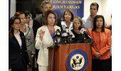 Trump y legisladores discuten separación de niños migrantes