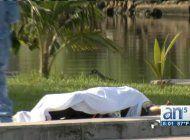 aparece cadaver flotando en rio miami