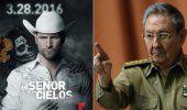 Raúl Castro entre narcos: escena censurada en Cuba de El Señor de los Cielos