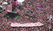 VIDEO: Croacia recibe como héroes a su selección tras su histórico segundo puesto en Rusia 2018