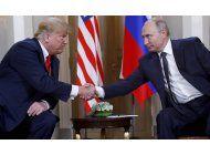 trump: quise decir lo contrario de lo que dije sobre rusia