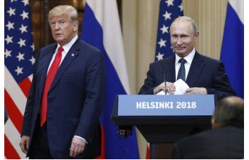 Trump extiende invitación a Putin para reunión en Washington