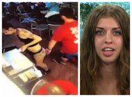 video: manosea a una camarera y esta le da la leccion de su vida en ee.uu.