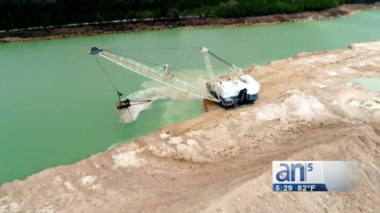 En Miami Lakes las explosiones de una mina amenazan con derrumbes y ...