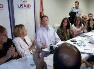 agencia de ee.uu para el desarrollo internacional alza la voz por cuba, venezuela y nicaragua