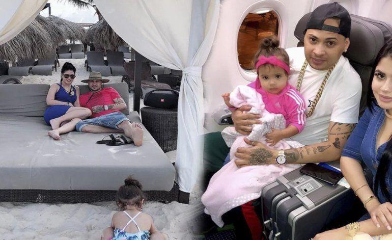 Las vacaciones de Jacob Forever y La Dura en Punta Cana