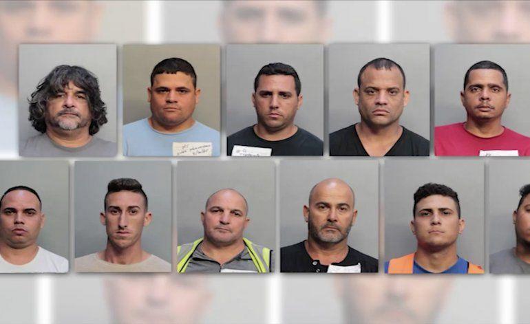 Tras las rejas 13 cubanos miembros de una banda de clonadores de tarjetas de crédito